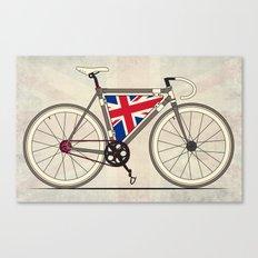 Love Bike, Love Britain Canvas Print