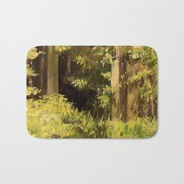 Woodland Landscape Nature Art Bath Mat