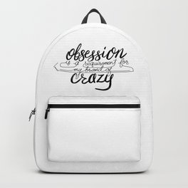 Figure Skating Obsession Backpack