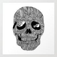 Skull No.1 Art Print