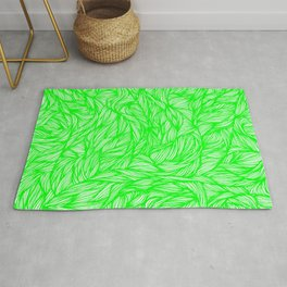 Surreal Lime Rug