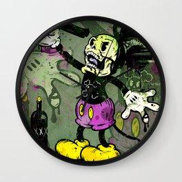 Mick Skele Wall Clock