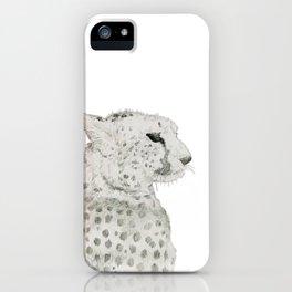 Graceful Cheetah iPhone Case