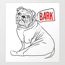 Bark Art Print