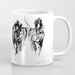 Horse (Trio Vertical Composition) Coffee Mug