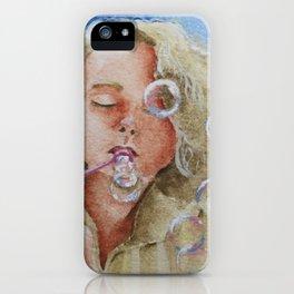 Jennifer Bubbles iPhone Case