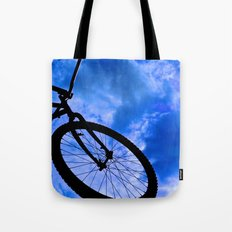 Sky Bike Tote Bag