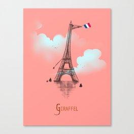 Giraffel Canvas Print