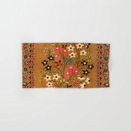 Kashan Vintage Central Persian Mat Print Hand & Bath Towel