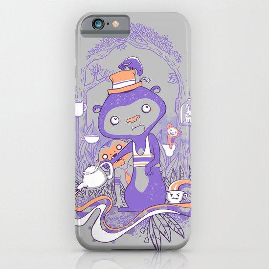 Tea Monkey Tea Party iPhone & iPod Case