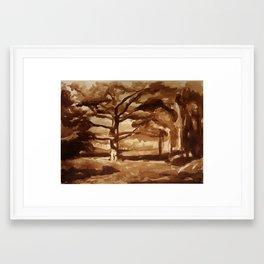 Ranger Study Framed Art Print