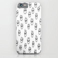 lips in grey iPhone 6s Slim Case