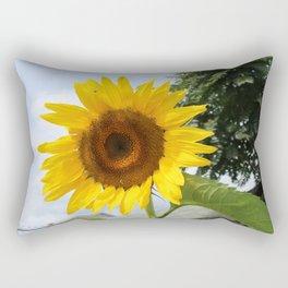 une seule fleur Rectangular Pillow