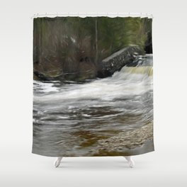 Trout River Shower Curtain