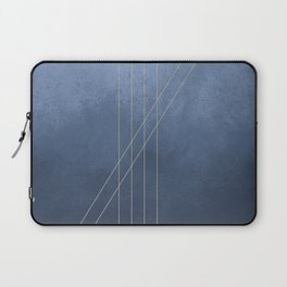 Moods in Blue-Gray Laptop Sleeve