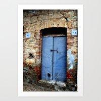 door Art Prints featuring door by  Agostino Lo Coco