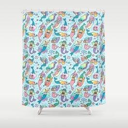 Magical Mermaids Shower Curtain