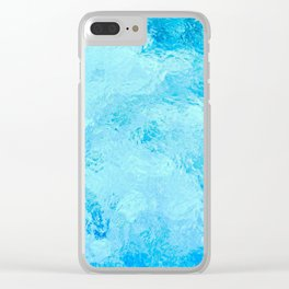 Caribbean Turquoise Sea Clear iPhone Case