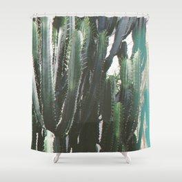 Cacti Shower Curtain