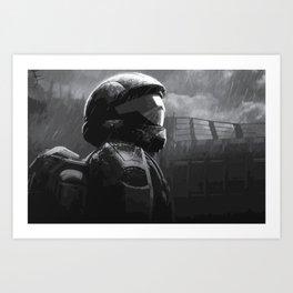 Halo 3 ODST Art Print