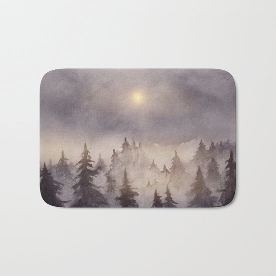 Into The Forest III Bath Mat
