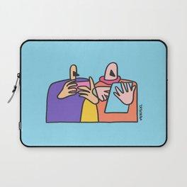 a rectangular life Laptop Sleeve