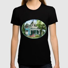The House with Red Trim T-shirt