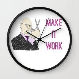 Tim Gunn - Make It Work Wall Clock