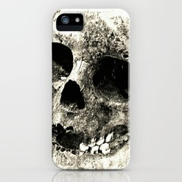 Human Skull iPhone Case
