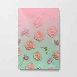Beautiful floral pattern Metal Print