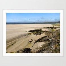 Luskentyre Beach Art Print