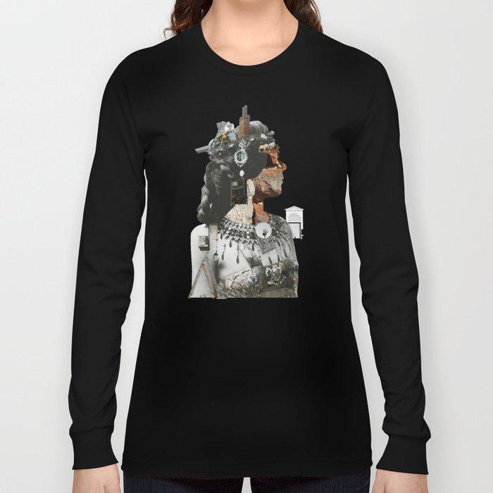 Crazy Woman - Della Mona Rosa Long Sleeve T-shirt