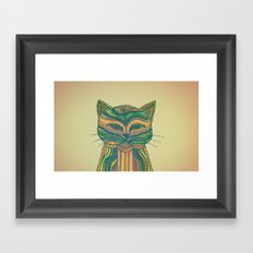 Felis Silvestris Framed Art Print