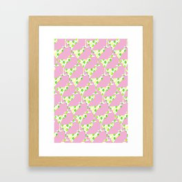 margarita pink Framed Art Print