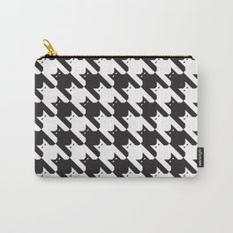 Catstooth Pattern Carry-All Pouch