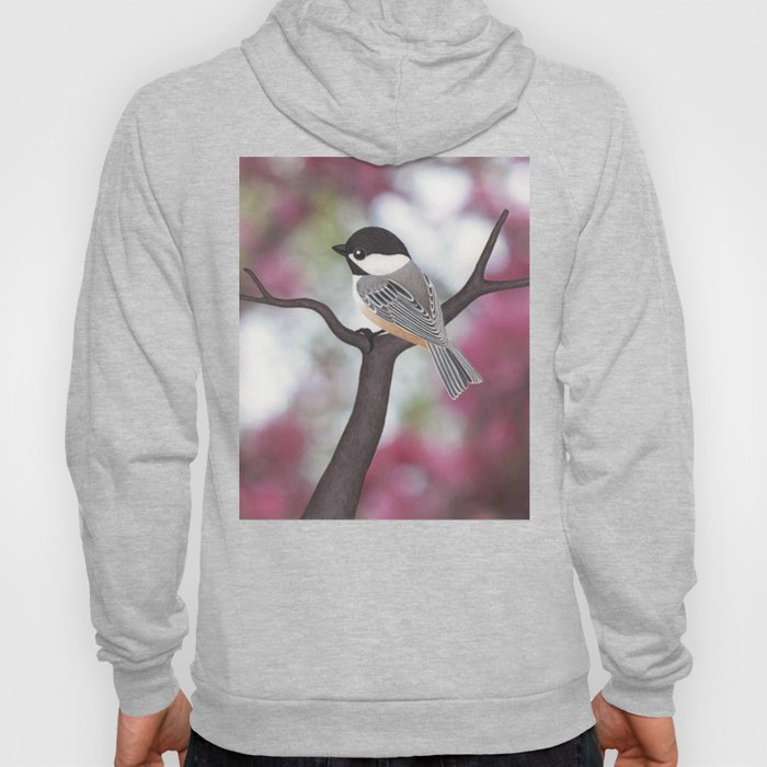 Wiley the black-capped chickadee Hoody