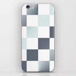 Square Pattern Simple Grid #decor #society6 #buyart iPhone Skin