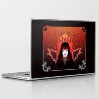 gothic Laptop & iPad Skins featuring Gothic by JadeGordon