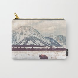 Bison & Tetons Carry-All Pouch