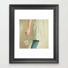 Happiness is my Camera Framed Art Print