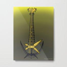 Keyblade Guitar #22 - Missing Ache Metal Print