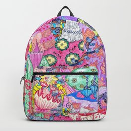 Trippy Forest Full Version Backpack