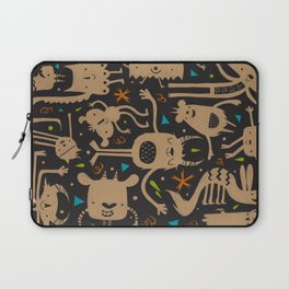 Topsy Turvy - Dark Laptop Sleeve