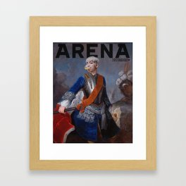 King TOP for Arena Homme Framed Art Print