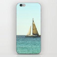 Sail Away with Me - Ocean, Sea, Blue Sky and Summer Sun iPhone & iPod Skin