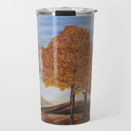Fall trees Travel Mug