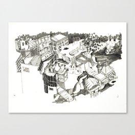 Webster Canvas Print