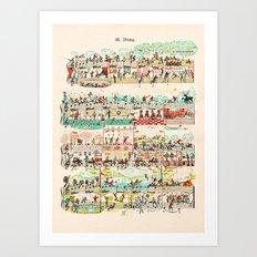 81 etude Art Print