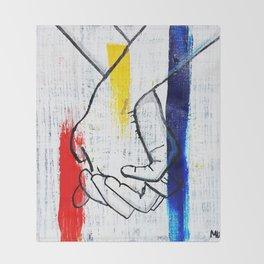 Primary Love Throw Blanket