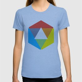 Color Wheel, design by Christy Nyboer T-shirt